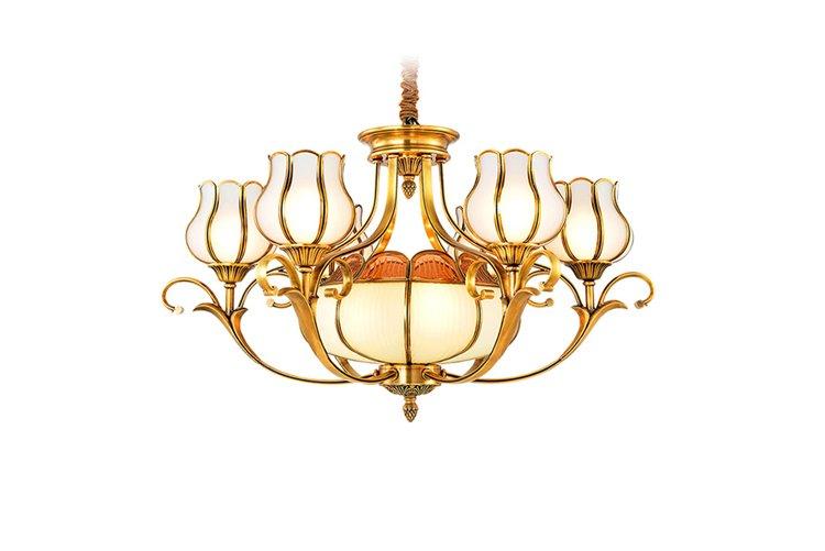 concise chandelier manufacturers copper unique for home-1