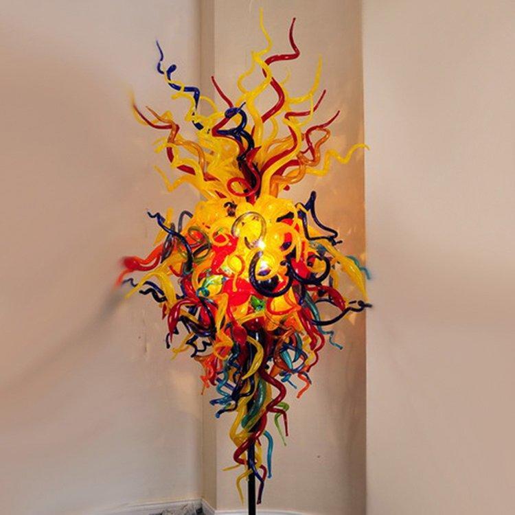 leaf shape restaurant lighting design hanging starfish heart for hall
