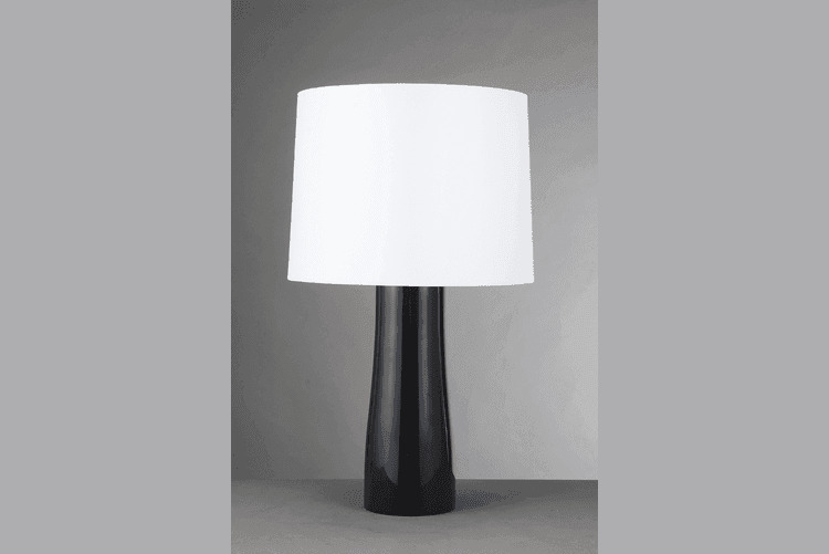 retro glass table lamps for living room European style brass material