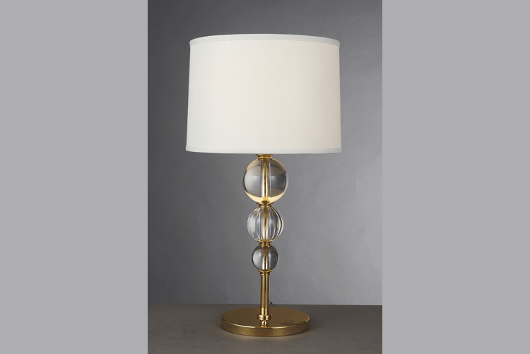 retro glass table lamps for living room decorative brass material for restaurant-1