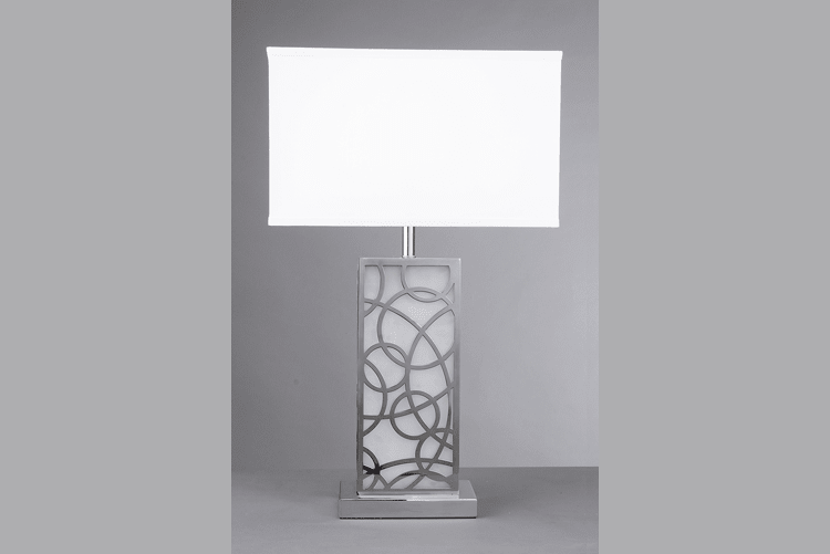 product-Fancy White Table Lamp EMT-052-EME LIGHTING-img