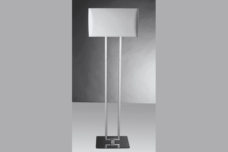 decorative standing floor lamps copper modern for restaurant