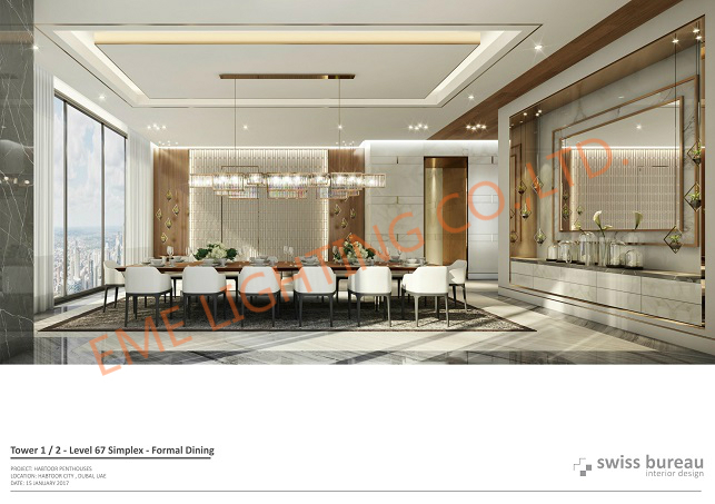 application-Penthouses of Al Habtoor City, Dubai-EME LIGHTING-img