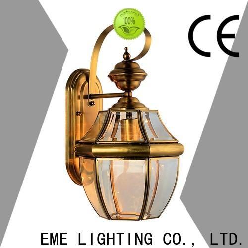 EME LIGHTING copper brass wall sconce ODM for restaurant