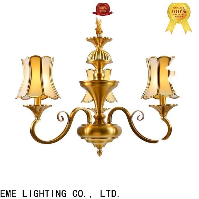 EME LIGHTING copper solid brass chandelier residential for home