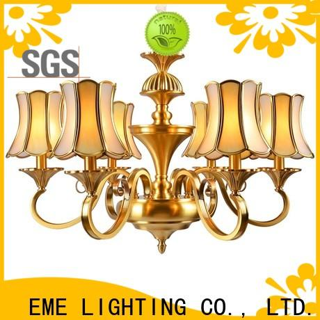 EME LIGHTING american style chandelier over dining table European for big lobby
