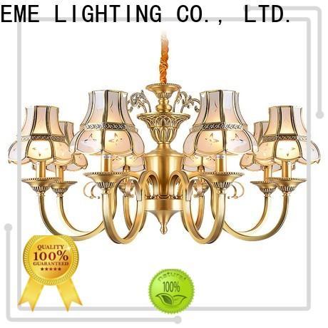 EME LIGHTING decorative modern brass chandelier European for dining room