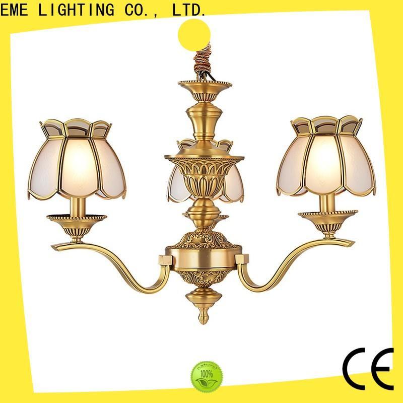 EME LIGHTING contemporary bronze crystal chandelier vintage for home