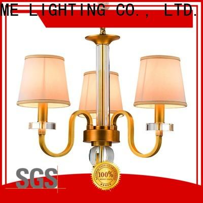 EME LIGHTING concise antique brass chandelier traditional for home