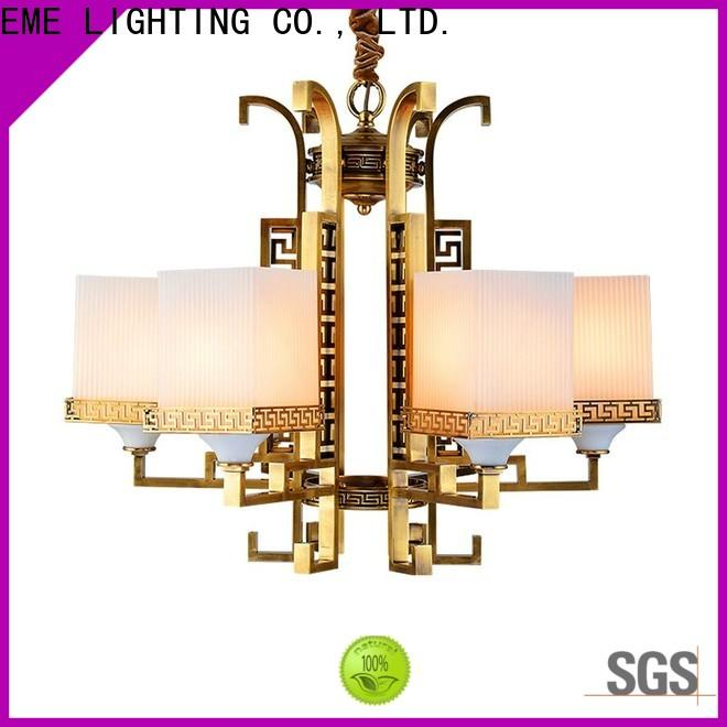 EME LIGHTING american style brushed brass chandelier European for home
