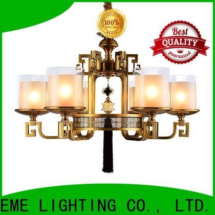 EME LIGHTING concise modern brass chandelier European