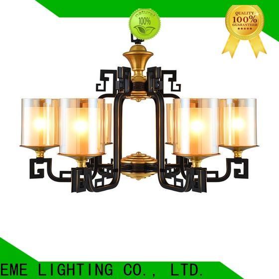 luxury antique copper pendant light american style European