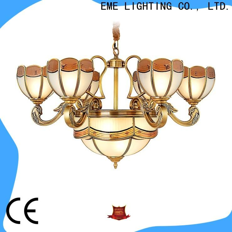 luxury antique brass chandelier copper traditional for dining room
