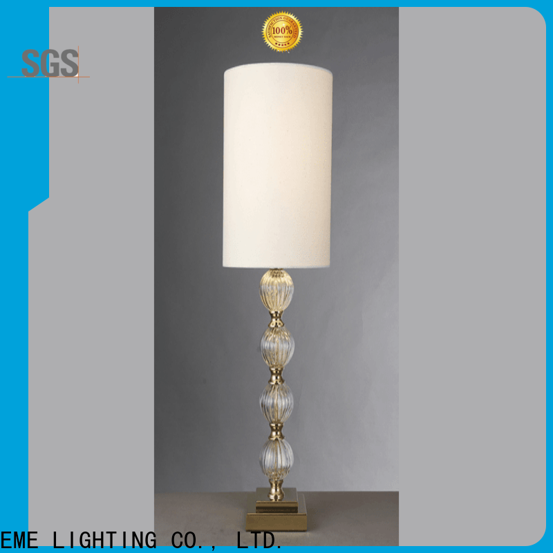 EME LIGHTING decorative western table lamps copper material for bedroom
