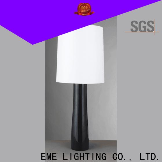 EME LIGHTING European style glass table lamps for bedroom brass material for room