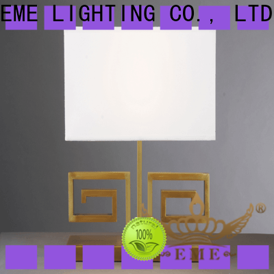 EME LIGHTING decorative western table lamps brass material for study