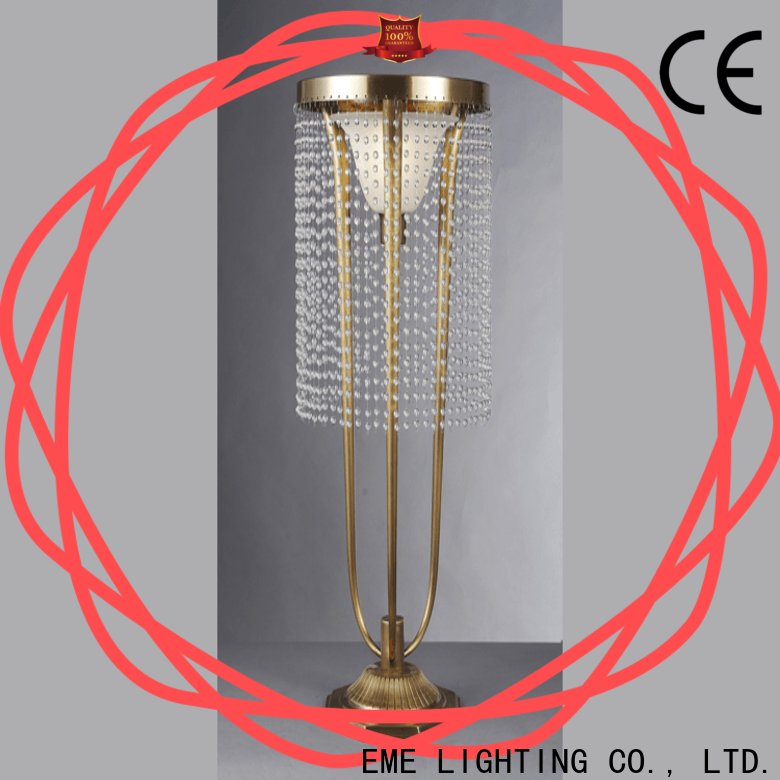 EME LIGHTING glass colored table lamp classic for restaurant