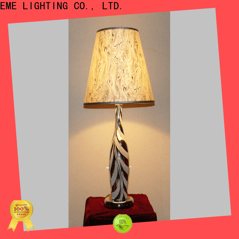 EME LIGHTING white decorative cordless table lamps Chinese style for hotels