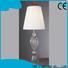 black decorative cordless table lamps white flower pattern for restaurant