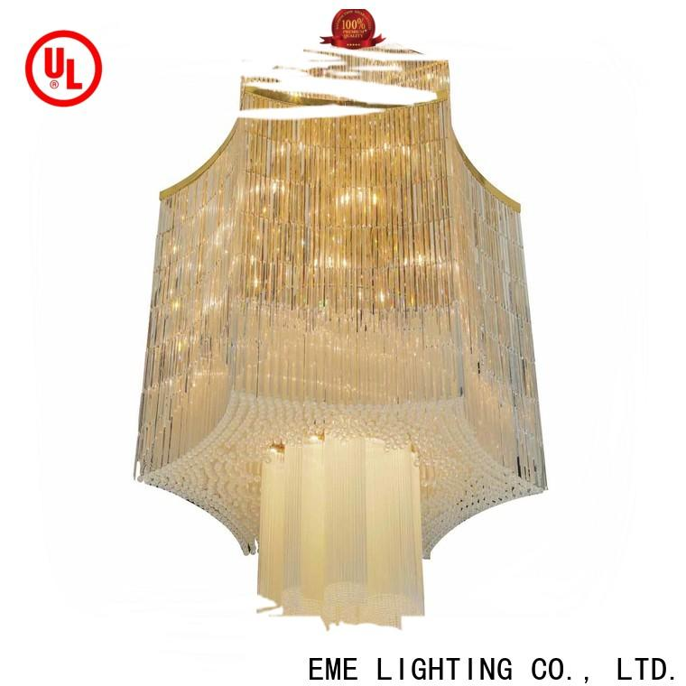 EME LIGHTING acrylic large chandeliers on-sale for lobby