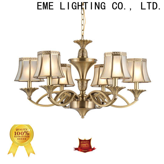 EME LIGHTING copper chandeliers wholesale traditional for dining room