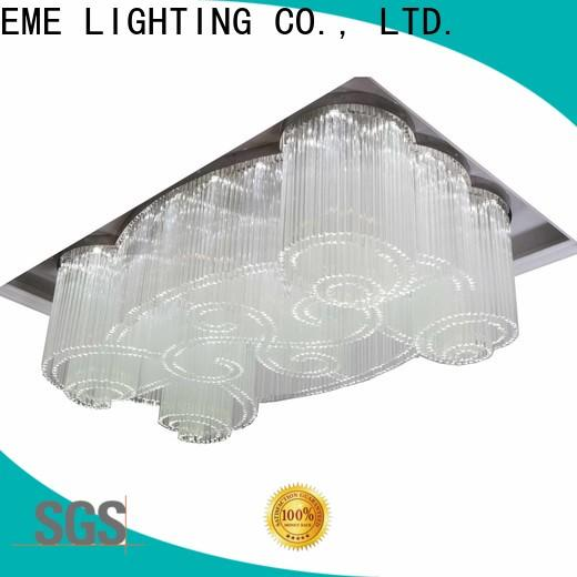 EME LIGHTING round custom crystal chandeliers at discount for lobby