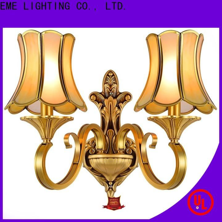 EME LIGHTING copper wall sconces for living room top brand for indoor decoration