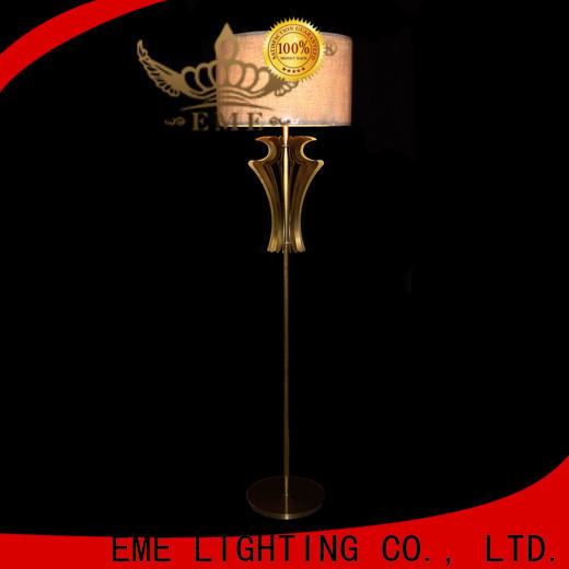 decorative modern floor lamp copper traditional for hotels