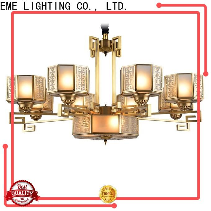 EME LIGHTING antique solid brass chandelier residential for big lobby