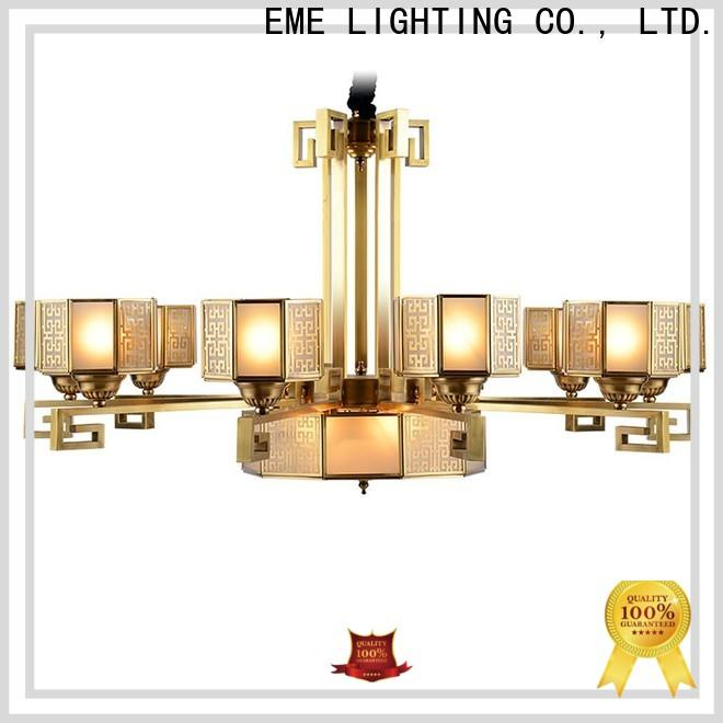 EME LIGHTING modern bronze crystal chandelier vintage for home