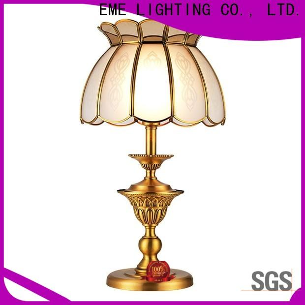 EME LIGHTING European style wood table lamp modern concise for house