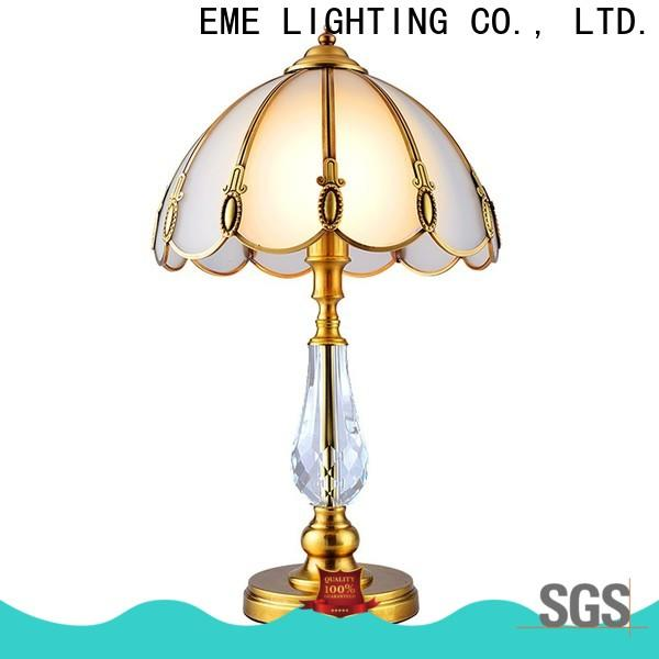 EME LIGHTING contemporary glass table lamps for living room cheap for restaurant