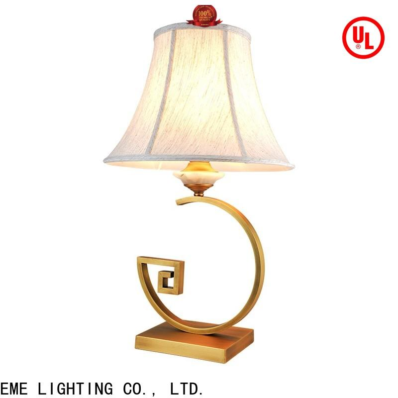 EME LIGHTING metal decorative cordless table lamps flower pattern for bedroom