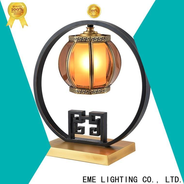 EME LIGHTING black colored table lamp classic for restaurant