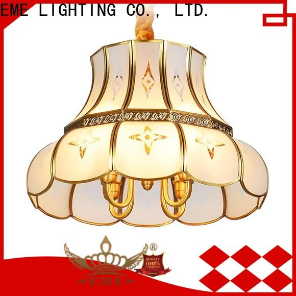 EME LIGHTING contemporary solid brass chandelier vintage