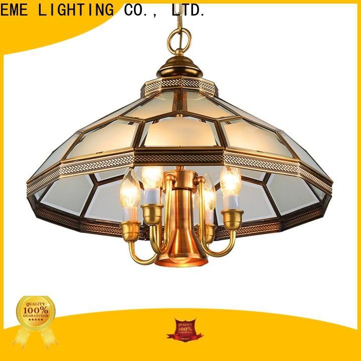 EME LIGHTING luxury bronze crystal chandelier residential