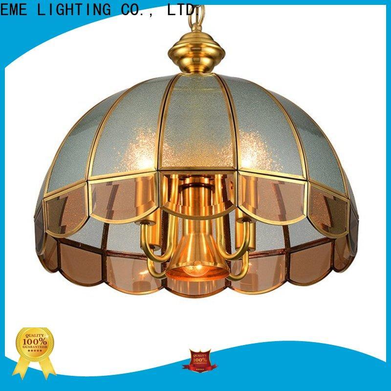 EME LIGHTING luxury copper lights round