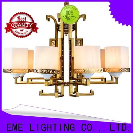 high-end copper lights glass hanging traditional