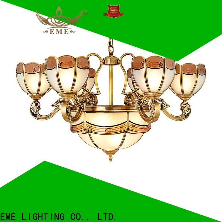 EME LIGHTING decorative modern brass chandelier European for home