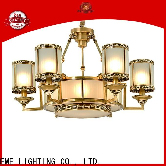contemporary brushed brass chandelier large European