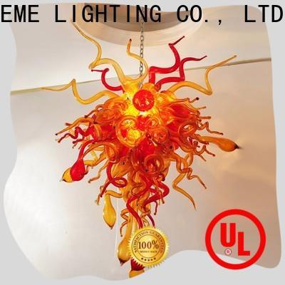 EME LIGHTING hanging restaurant lighting design pure white for hotel