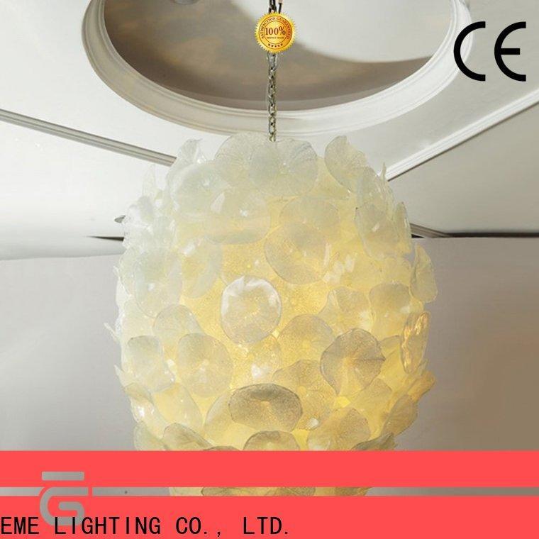 EME LIGHTING leaf shape restaurant lighting design pure white for hall