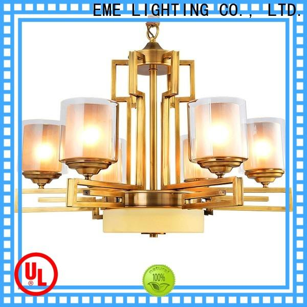 concise modern brass chandelier american style vintage for dining room