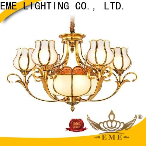 contemporary solid brass chandelier american style European for home