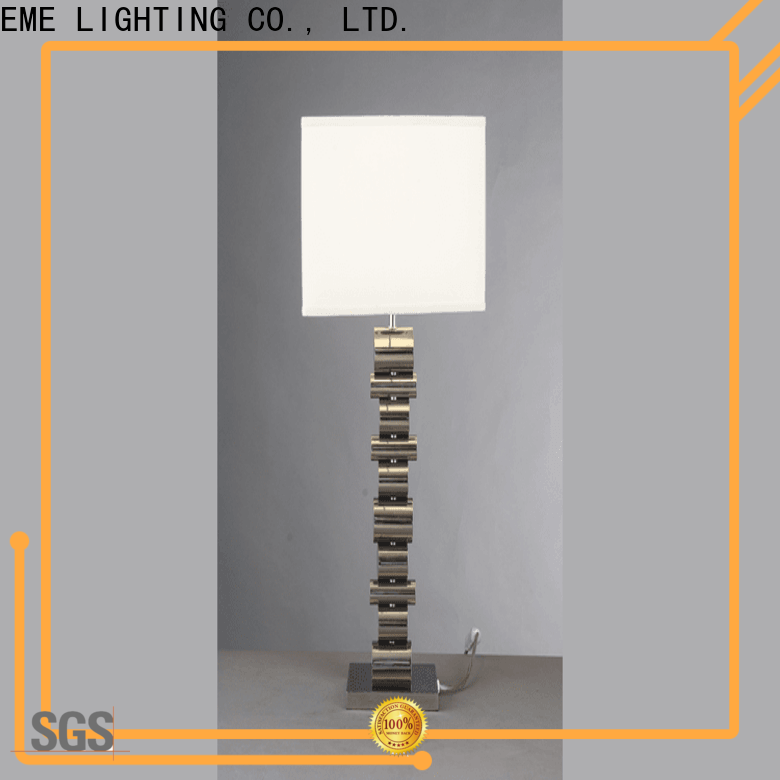 EME LIGHTING contemporary wood table lamp modern bulk production for study