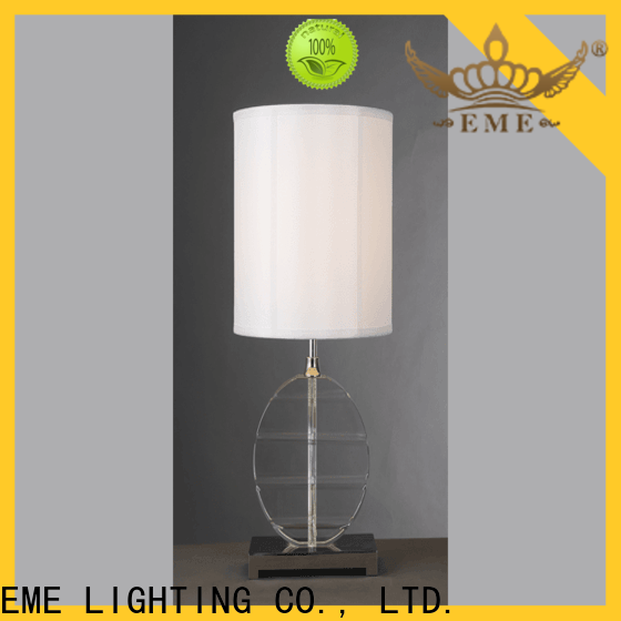 EME LIGHTING contemporary glass table lamps for living room bulk production for study