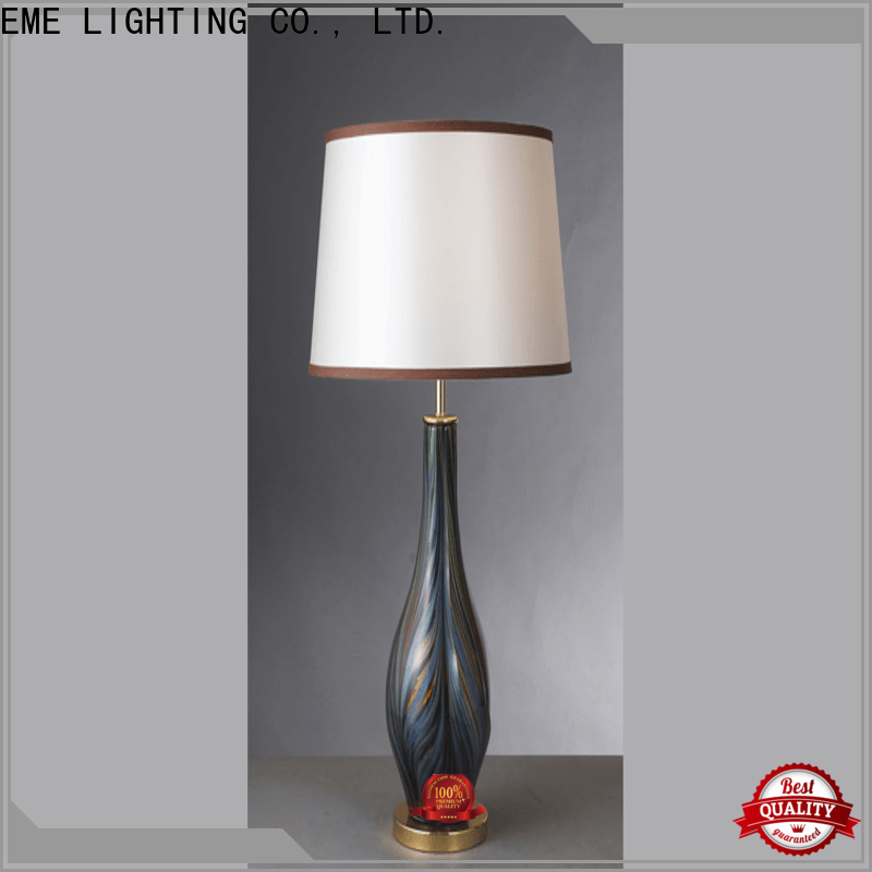 EME LIGHTING black decorative cordless table lamps classic for bedroom