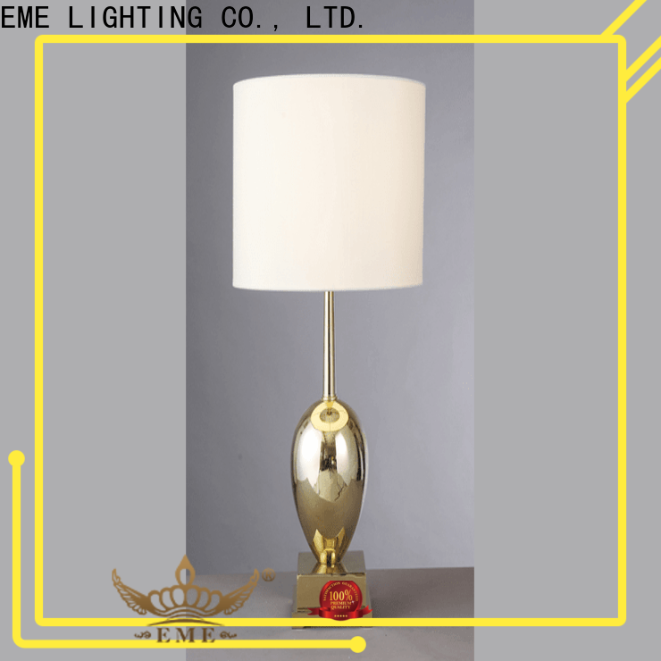decorative oriental table lamps gold colored for hotels