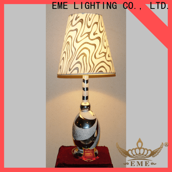 EME LIGHTING white oriental table lamps colored for restaurant