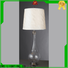 black colored table lamp white Chinese style for hotels